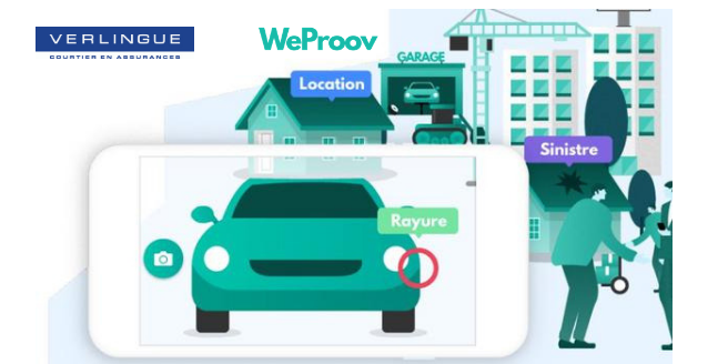 Verlingue is linking up with WeProov in the field of remote assessment and management of claims for road traffic accidents